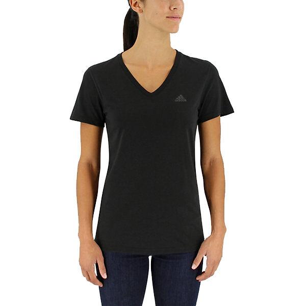 Adidas Women's Ultimate Short-Sleeve V-Neck Tee