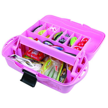 Flambeau Pink Ribbon 1-Tray Tackle Box