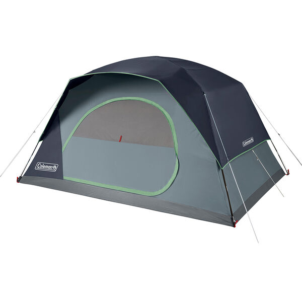 Coleman Skydome 8-Person Camping Tent, Blue
