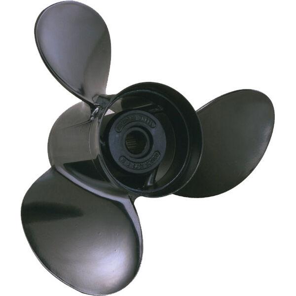 Michigan Wheel 3-Blade Prop, Pressed Rubber Hub / Aluminum, 10.375 dia x 14, RH