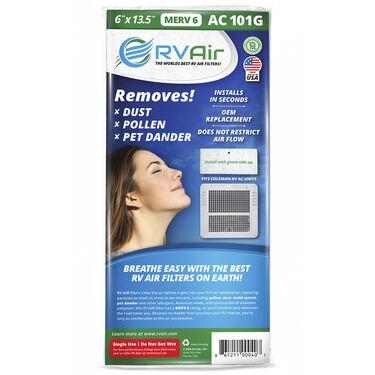 """RV Air AC 101G Air Filter, 13.5"""" x 6"""""""