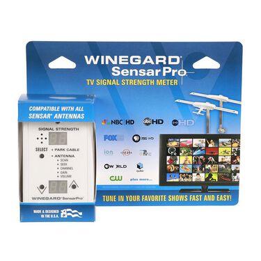Winegard SensarPro TV Signal Meter - White