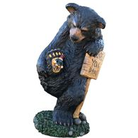 "Design House Wipe Your Paws Bear, 24"" Tall"