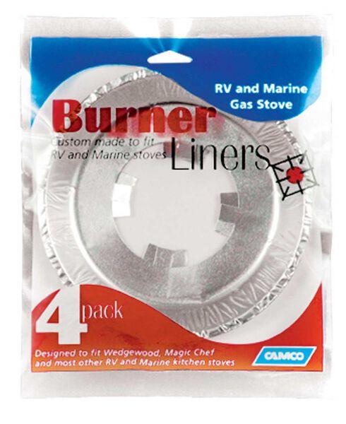 Gas Stove Burner Liners, 4pk