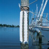 """Double Dock Bumper (Small 5-1/2""""W x 1-1/4"""" D)White 3'"""