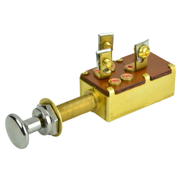 BEP SPDT Push-Pull Switch, 3 Position,