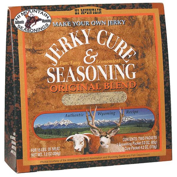Hi Mountain Seasonings Jerky Cure & Seasoning Kit, Original