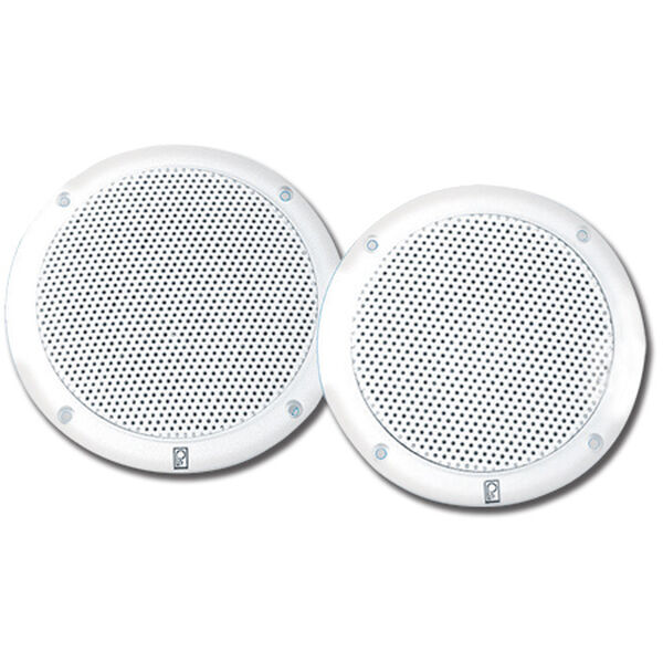 """Poly-Planar MA4056 6"""" Dual Cone Integral Ultra-Low Magnetic Field Speakers, Pair"""