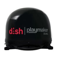 DISH® Playmaker® Dual Portable Satellite Antenna, Black