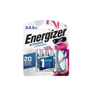 Energizer Ultimate Lithium AAA Batteries (X Pack), Lithium Triple A Batteries