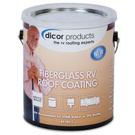 Dicor Fiberglass RV Roof Coating, Gallon