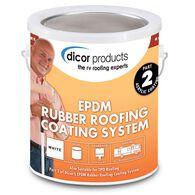 Dicor White Rubber Roof Acrylic Coating, White