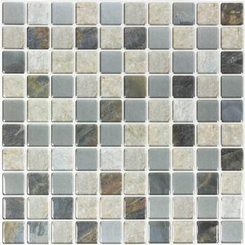 Peel and Stick Mosaic Wall Tiles, Sequoia- 5 Pack