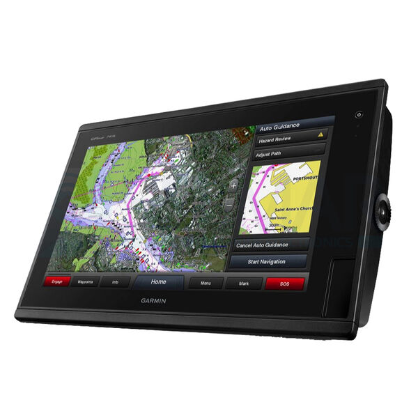 "Garmin GPSMAP 7416 16"" Touchscreen Chartplotter With J1939 Port"