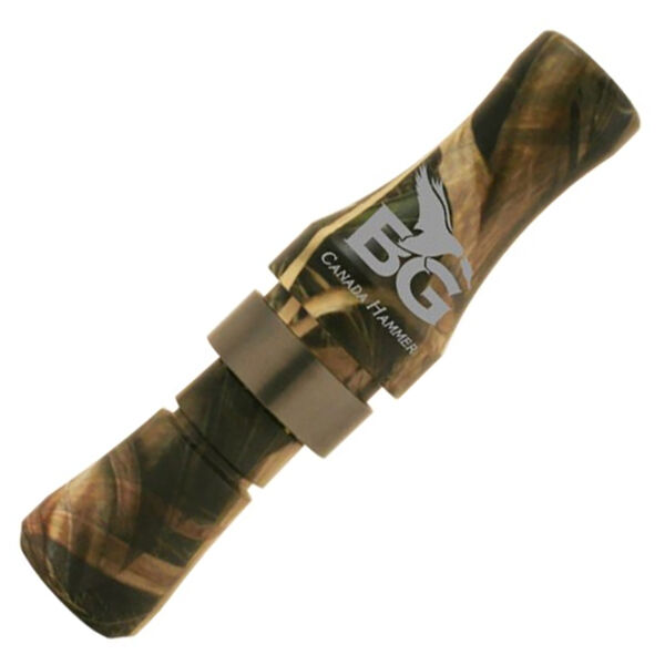 Buck Gardner Canada Hammer Polycarbonate Goose Call, Mossy Oak Shadow Grass