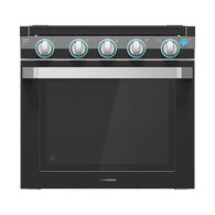 """Furrion 21"""" 2-in-1 Range Oven with Die-Cast Grate, Black"""