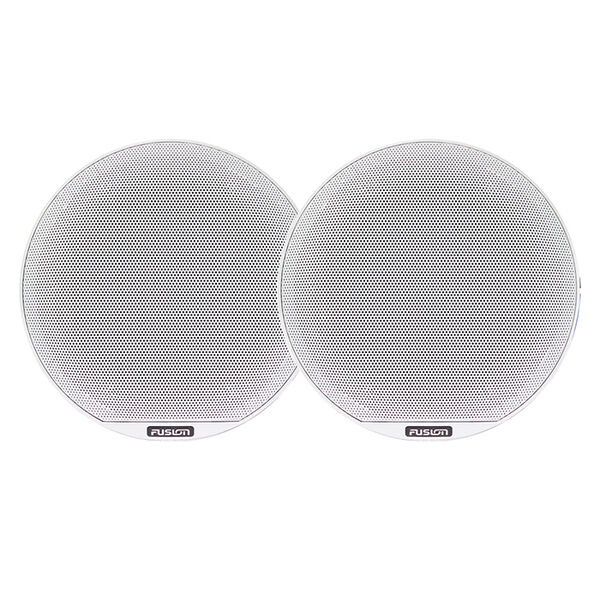 """FUSION Signature Series 3 - 6.5"""" Speakers - White Sports Classic Grill"""
