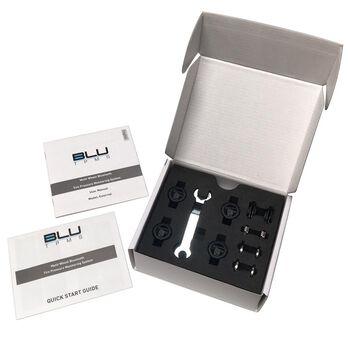 BLU Tire Pressure & Temperature Monitoring System, External 1-150psi, Set of 4