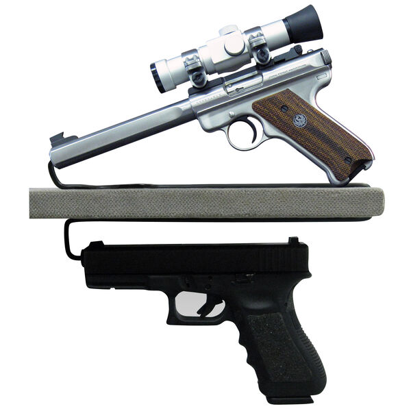 Liberty Safe Over/Under Handgun Hanger, 2-Pack