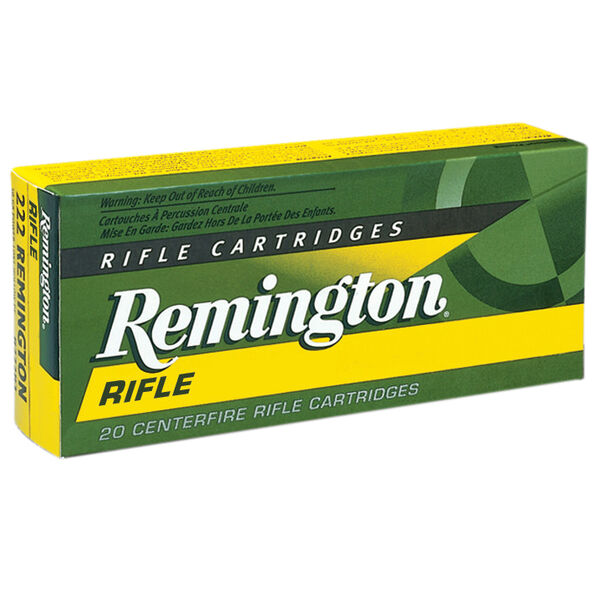 Remington High Performance Rifle Ammunition, .220 Swift, 50-gr., PSP, 20 Rounds