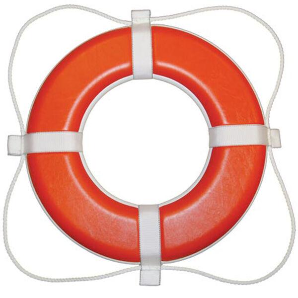 "Orange Foam Life Ring, 20"""