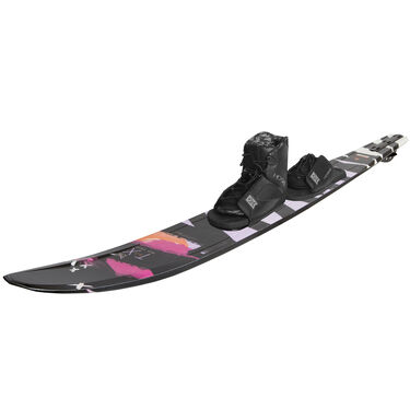 HO Women's TX Slalom Waterski With Free-Max Binding And Adjustable Rear Toe
