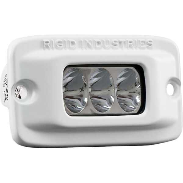 Rigid Industries MSR-M2F Single Row Mini White LED Flush-Mount Light, Driving