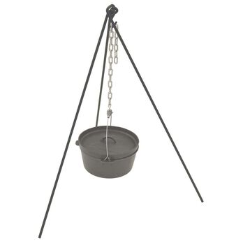 Bayou Classic® Tripod Stand with Chain & Tote Bag