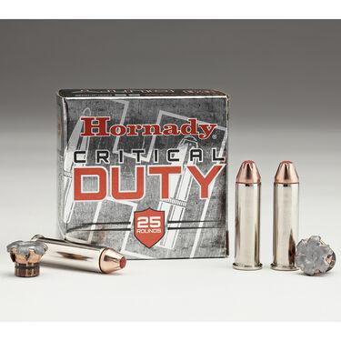 Hornady Critical Duty Ammo, .45 ACP +P, 220-gr., FlexLock, 20 Rounds