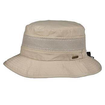 Dorfman Pacific Men's No Fly Zone Mesh Boonie Hat