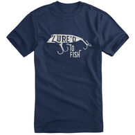 Fin Fighter Men's Lured To Fish Short-Sleeve Tee