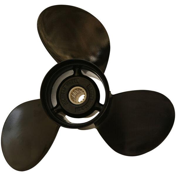 Michigan Wheel 3-Blade Prop, Pressed Rubber Hub / Aluminum, 16 dia x 16, RH
