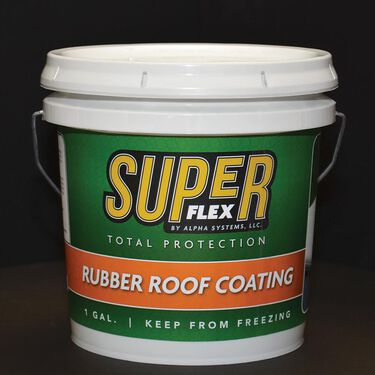 Super Flex Rubber Roof Coating 1 Gallon Camping World