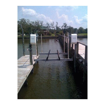 "Lunmar Boat Lifts 1//2/"" Galvanized Shackle"