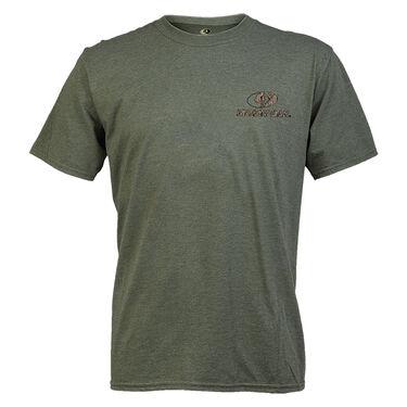 Mossy Oak Men's Short-Sleeve Tee - Heather City Green