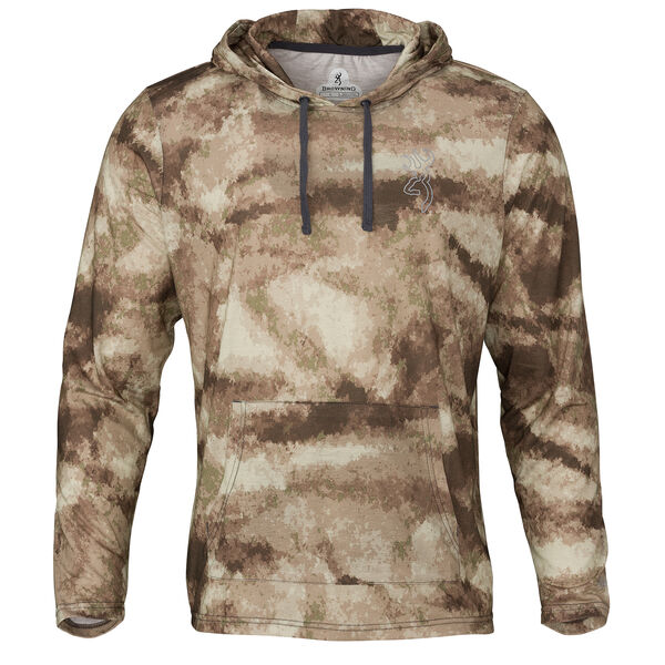 Browning Men's Hipster VS Camo Pullover Hoodie
