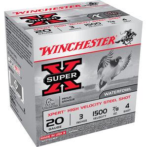 "Winchester Xpert High Velocity Steel Shot, 20-ga., 3"", 7/8 oz."