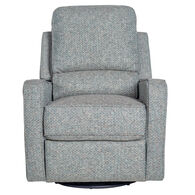Perth Swivel Glider Recliner in Gavril Petrol