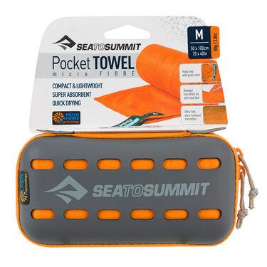 Sea to Summit Pocket Towel, Orange, Medium