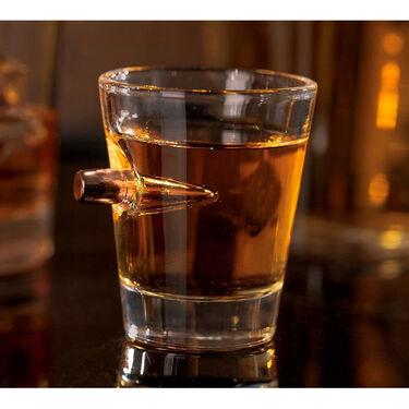 Lucky Shot .308 Bullet Shot Glass