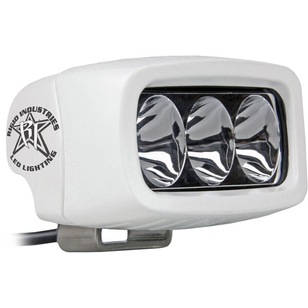 Rigid Industries MSR-M2 Single Row Mini White LED Light, Driving