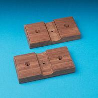 SeaForce Teak Rod Storage Rack Mounting Boards