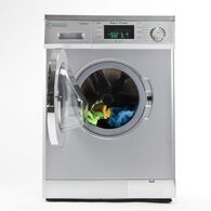 Equator 1.57 cu.ft. Compact Convertible Super Washer with Venting/Condensing Drying, Silver