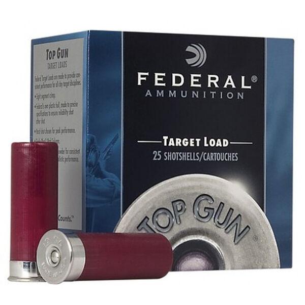 "Federal Top Gun Shotshell Target Loads, 12-ga., 2-3/4"", 1-oz., #8, 1250 fps"