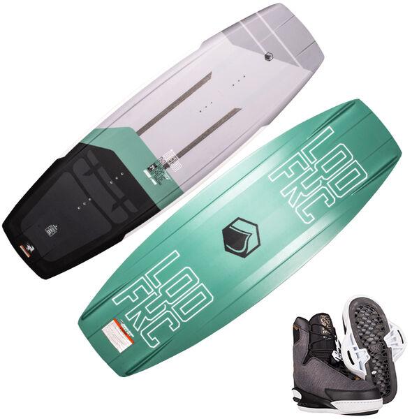 Liquid Force M.E. Aero Wakeboard with Vida 6X Bindings