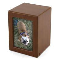 Photo Frame Pet Urn, Honeynut, Medium