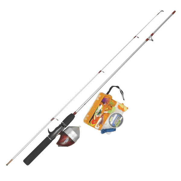 Zebco Ready Tackle Spincast Combo with Tackle