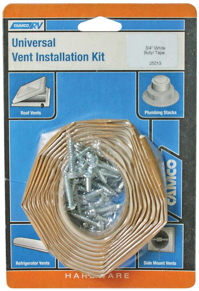 Universal Vent Installation Kit Rubber Roofs Only