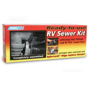 Easy Slip Ready-to-Use RV Sewer Hose Kit