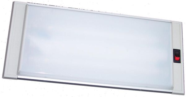 Recessed Fluorescent Light Fixture #732